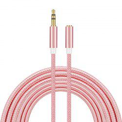 Headphones audio extension cord -