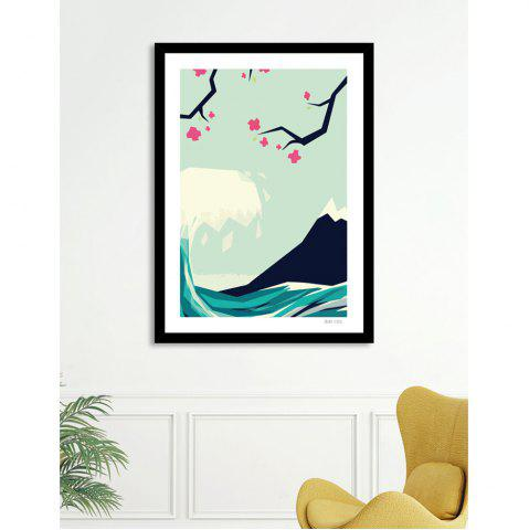 Outfits Canvas Inkjet Abstract Cute Simple Painting Living Room Bedroom Restaurant Home Wall Art