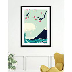 Canvas Inkjet Abstract Cute Simple Painting Living Room Bedroom Restaurant Home Wall Art -