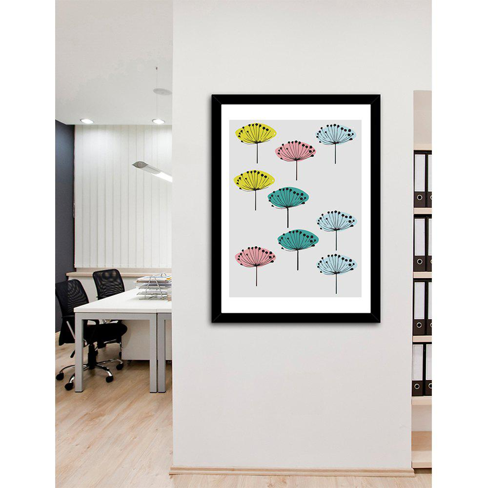 New Canvas Inkjet Abstract Creative Simple Painting Living Room Bedroom Restaurant Home Wall Art