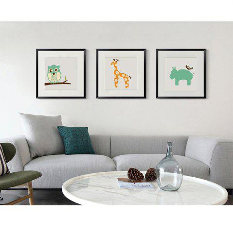 Discount Canvas Inkjet Abstract Cute Animal Painting Living Room Bedroom Restaurant Hotel Home Wall Art