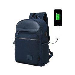 Design Tigernu Brand Men Backpack Anti-Theft USB Charge Port for 14 Inch -