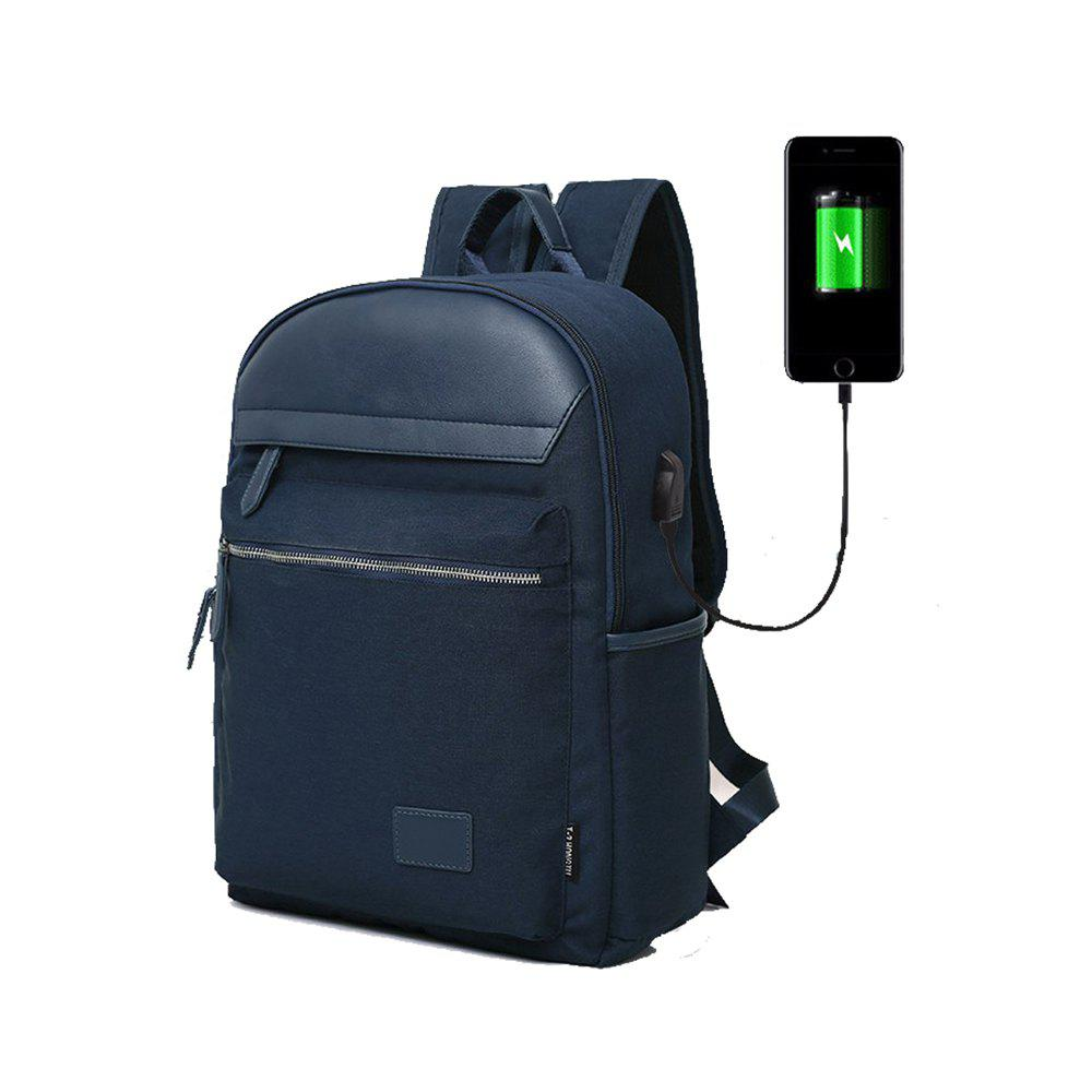 Shop Design Tigernu Brand Men Backpack Anti-Theft USB Charge Port for 14 Inch