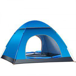 Folding Tent Automatic Open Double Doors Persons Anti-UV for Camping -