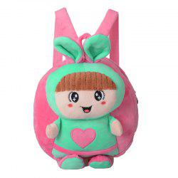 Plush Toy Children's Shoulder Bag Kindergarten Backpack -