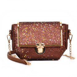 TY1202 Chain Sequins Slant Across Small Packet -