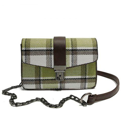 Buy JC6705 A Fashion Checkered Single Shoulder Bag