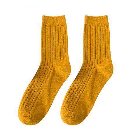 Shops Men's Socks Candy Colored Stockings Middle Tube
