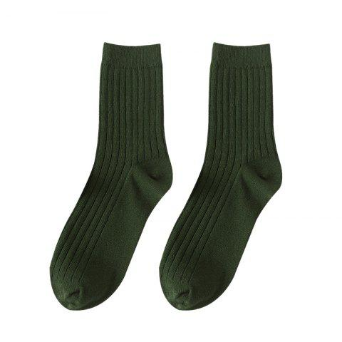 Affordable Men's Socks Candy Colored Stockings Middle Tube