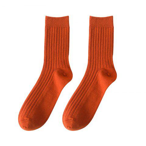 Fashion Men's Socks Candy Colored Stockings Middle Tube