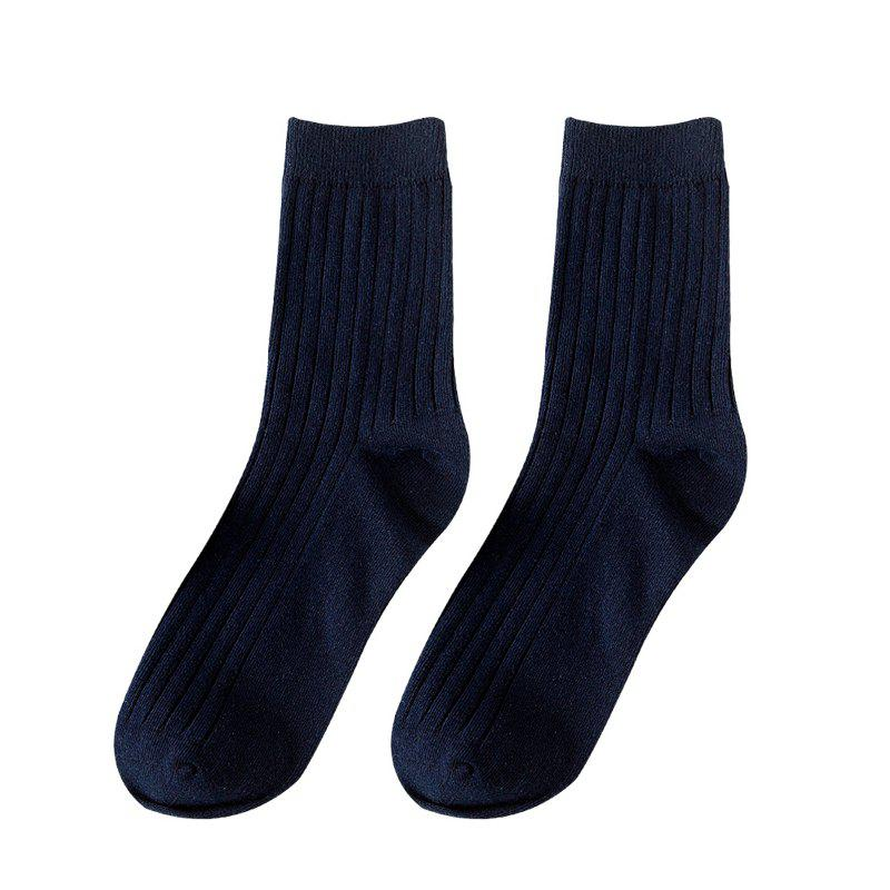 Discount Men's Socks Candy Colored Stockings Middle Tube