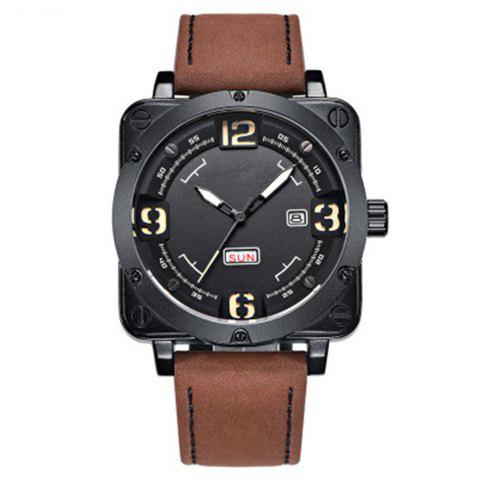 Unique Sports Men Luxury Fashion Quartz Wrist Watch