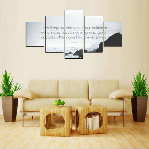 Best MailingArt FIV615  5 Panels Moto Wall Art Painting Home Decor Canvas Print