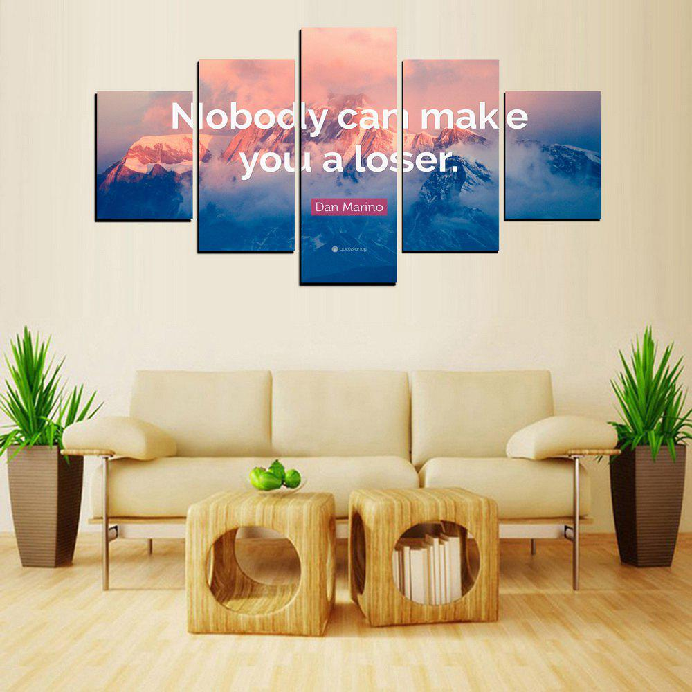Sale MailingArt FIV620  5 Panels Moto Wall Art Painting Home Decor Canvas Print