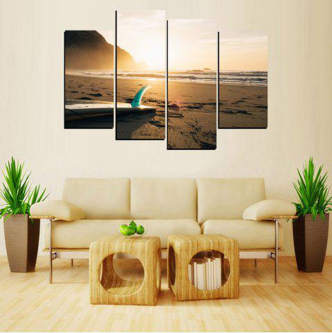 New MailingArt FIV644  4 Panels Landscape Wall Art Painting Home Decor Canvas Print