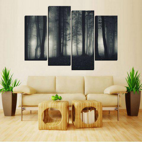 New MailingArt FIV650  4 Panels Landscape Wall Art Painting Home Decor Canvas Print