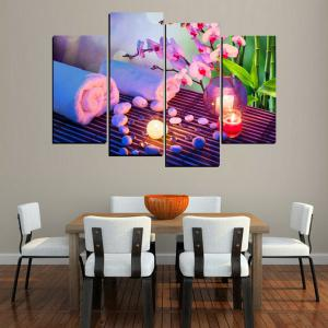 MailingArt FIV656  4 Panels Landscape Wall Art Painting Home Decor Canvas Print -