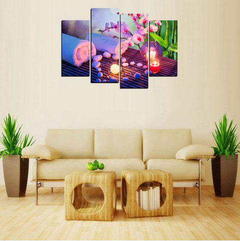 Cheap MailingArt FIV656  4 Panels Landscape Wall Art Painting Home Decor Canvas Print