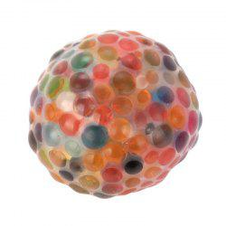 Jumbo Squishy Spongy Rainbow Ball Squeezable Stress Toy Stress Relief for Fun -