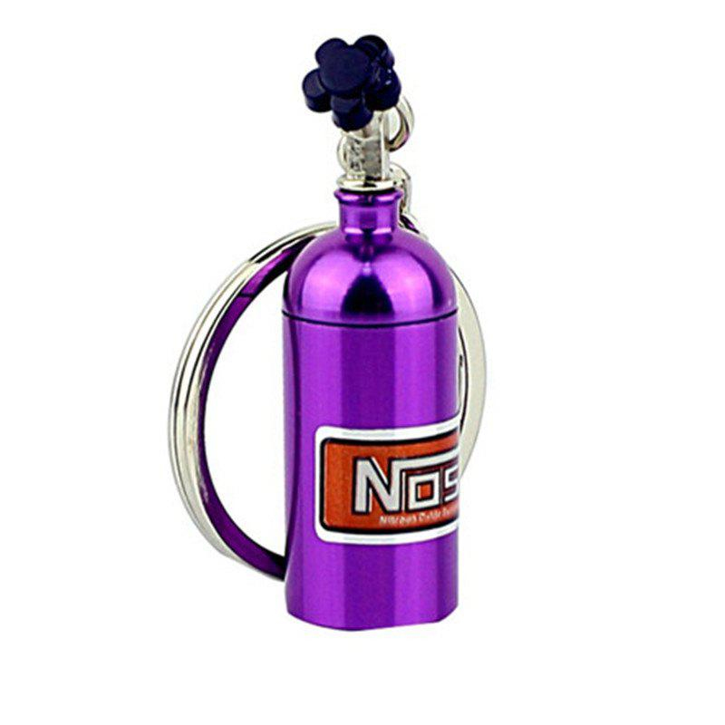 Unique Mini Nitrous Oxide Bottle Turbo Keychain