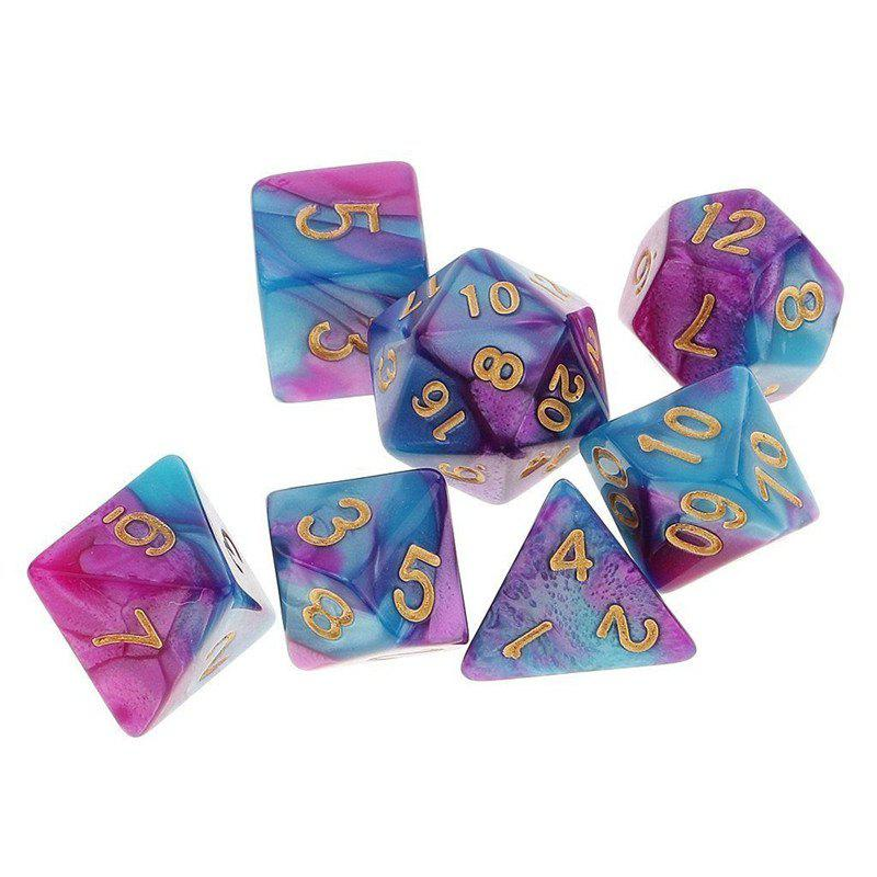 Hot Different Polyhedral 7PCS