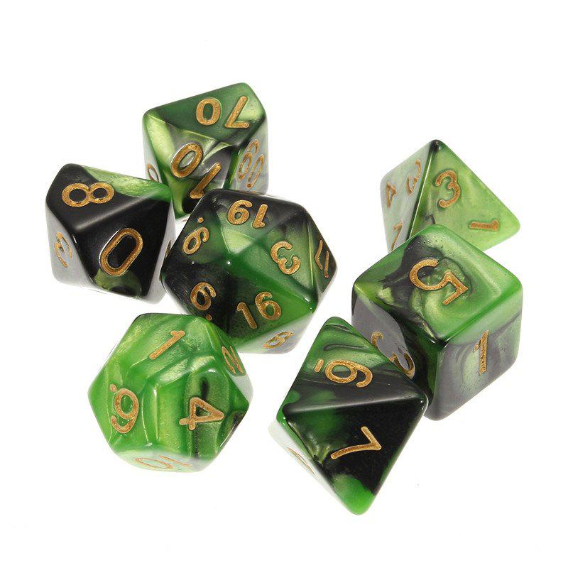 New Different Polyhedral 7PCS