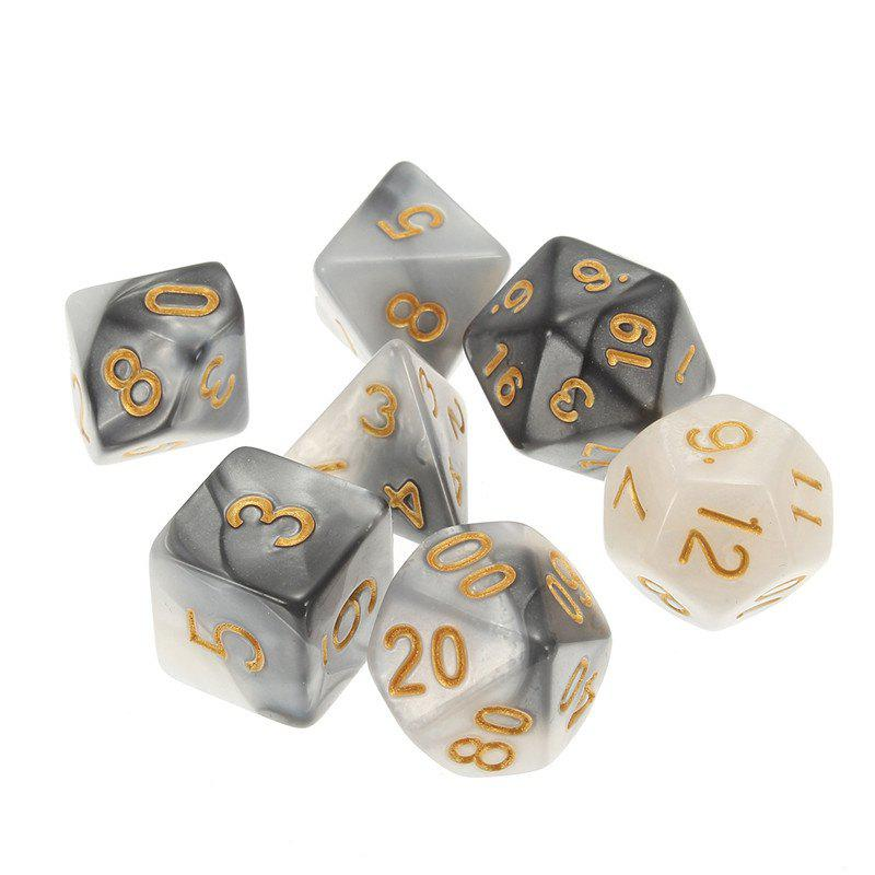 Shops Different Polyhedral 7PCS