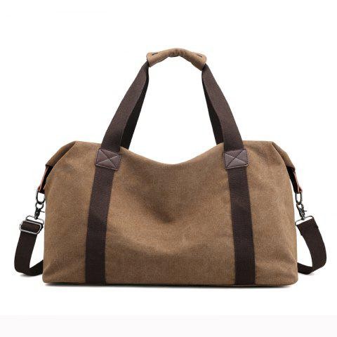 Trendy New Canvas Suitcase Packed with Men's Large Luggage Bags