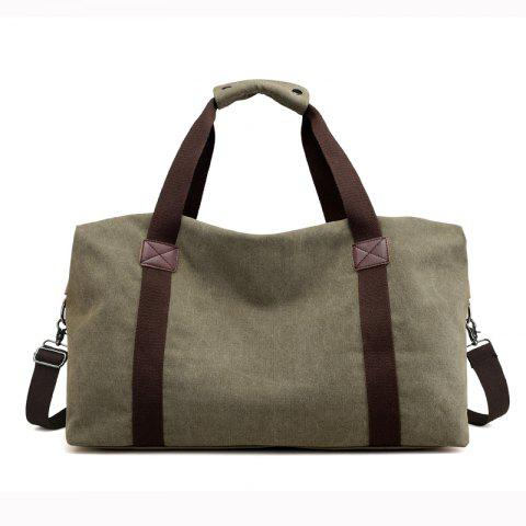 Online New Canvas Suitcase Packed with Men's Large Luggage Bags