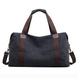 New Canvas Suitcase Packed with Men's Large Luggage Bags -