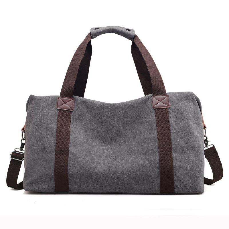 Affordable New Canvas Suitcase Packed with Men's Large Luggage Bags