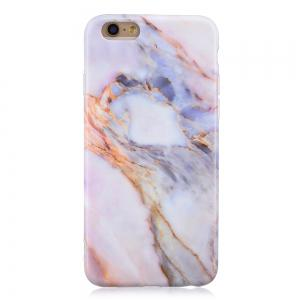 Luxury Marble Stone Pattern Slim Fit Soft Tpu Mobile Phone Case Cover Coque for  iPhone 6/6S 4.7 Inch -