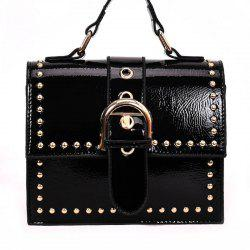 Shoulder Bag with Rivet Shoulder -