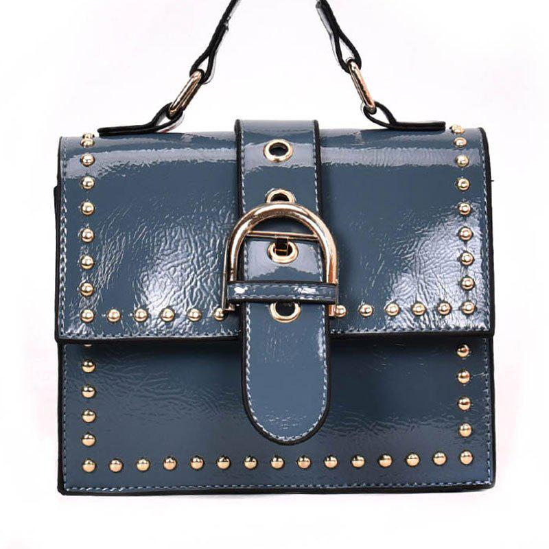 New Shoulder Bag with Rivet Shoulder