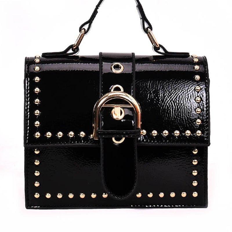 Discount Shoulder Bag with Rivet Shoulder