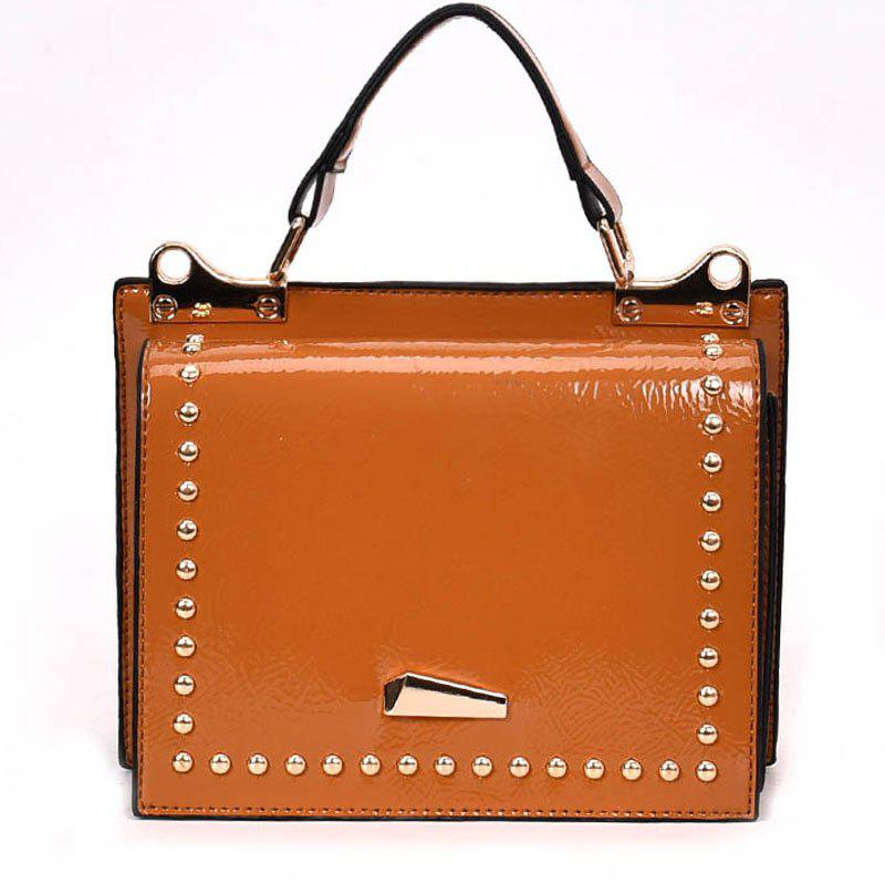 Fancy Single Shoulder Bright Side Bag