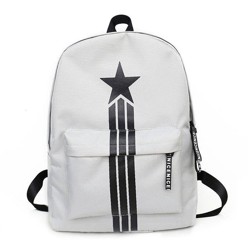 Sale Large Capacity Simple Canvas Backpack