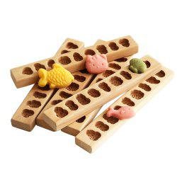 Wooden Cartoon Pasta Mung Bean Cake Pumpkin Cake Cookie Mold -