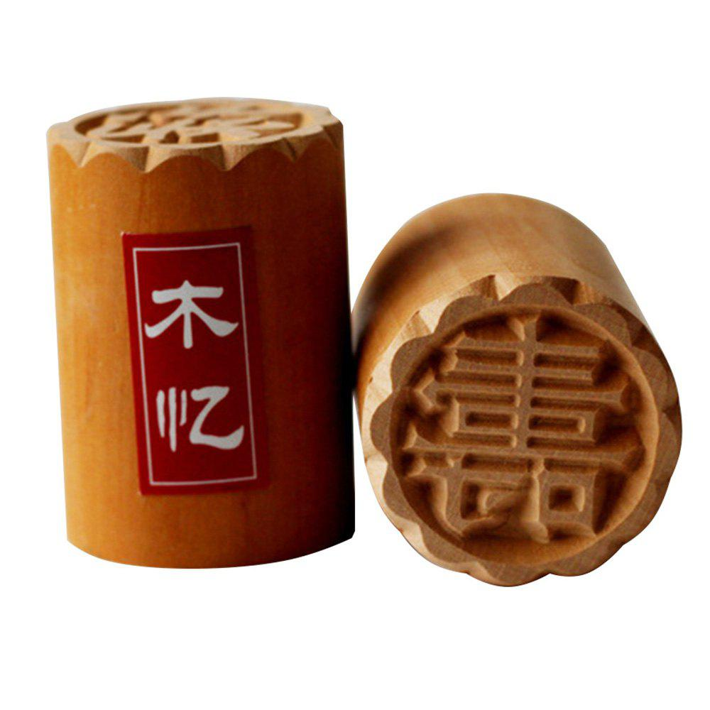 Chic Shouxi Pear Wood Cake  Seal