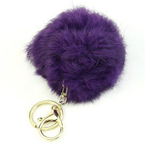 Hot Cartoon Hairball Rabbit Pendant Keychain
