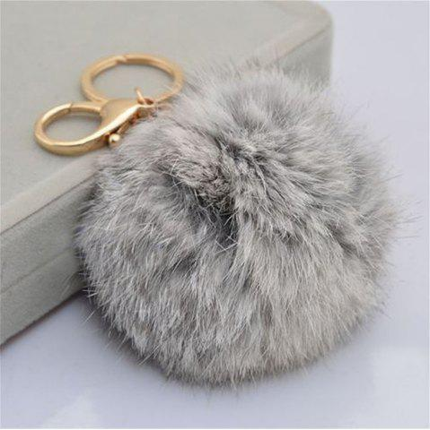 Cheap Cartoon Hairball Rabbit Pendant Keychain