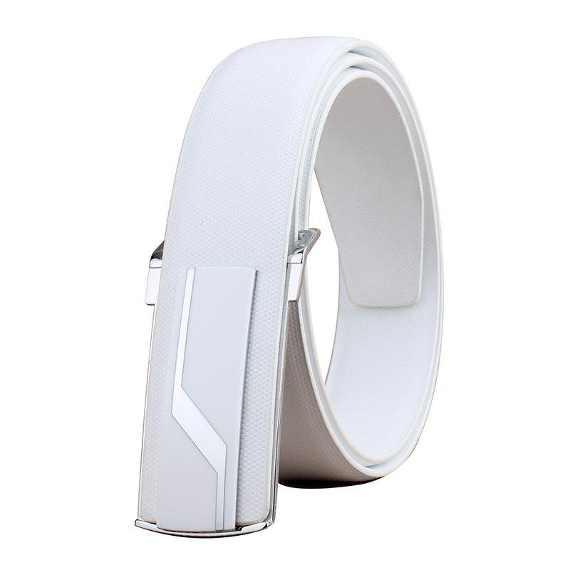 Trendy ZHAXIN 892 Lighting Pattern Smooth Clasp Fashion Men Belt