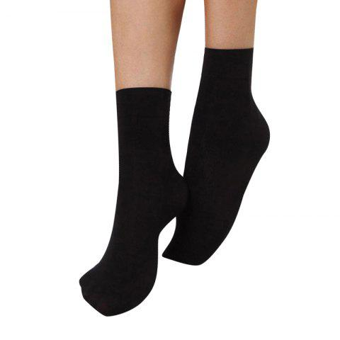 Shop 10 Pairs of Short  Thin Pressure Veivet Spring Wide Mouth Female Socks