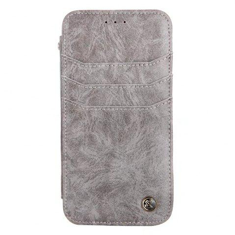 Outfit For iphone7 / 8 Vintage Wallet Genuine Leather Case Flip Book Phone Bag Cover with Card Holder