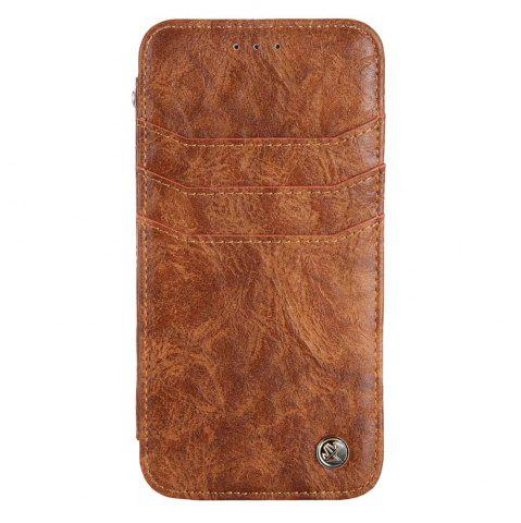 New For iphone7 / 8 Vintage Wallet Genuine Leather Case Flip Book Phone Bag Cover with Card Holder