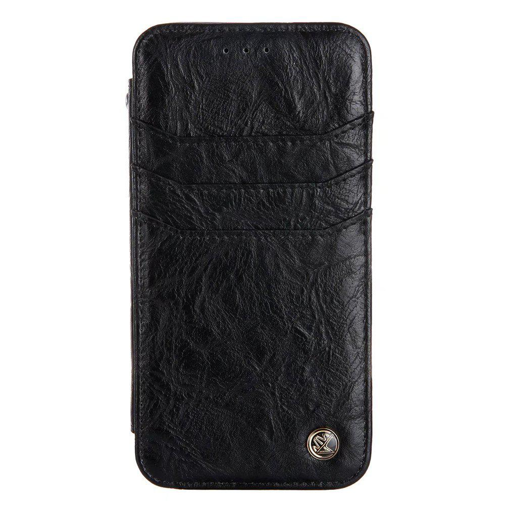 Buy For iphone7 / 8 Vintage Wallet Genuine Leather Case Flip Book Phone Bag Cover with Card Holder