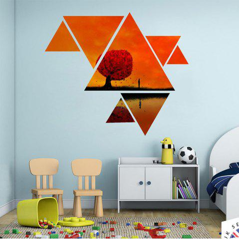 Discount Wall Stickers Fashion Personality Landscape Animals Space Sea World XQ020003