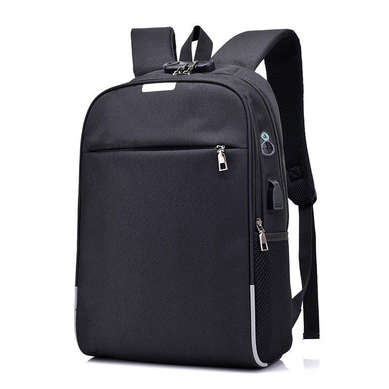 Outfits Anti-Theft Backpack Smart USB Charging Shoulder Bag Cloth Notebook