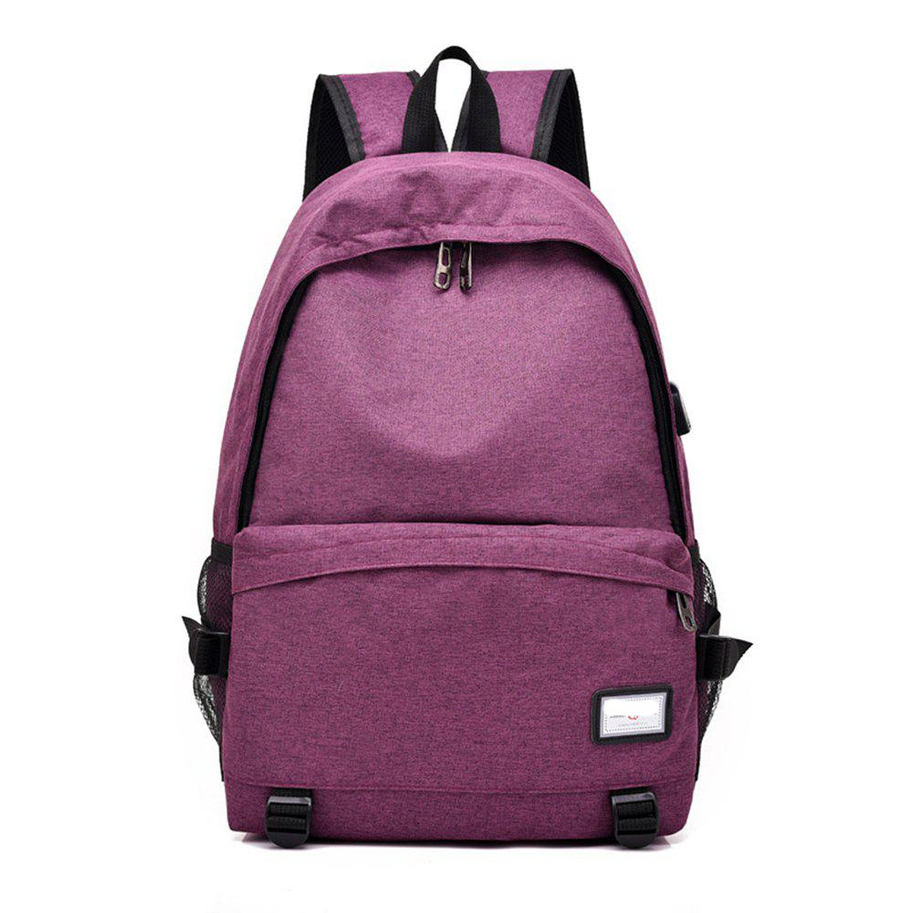 Affordable Simple Canvas Backpack Student Bag