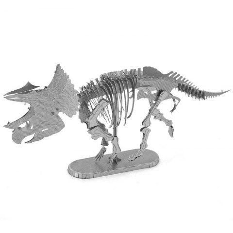 3D Triceratops Metal Model Kit Puzzle
